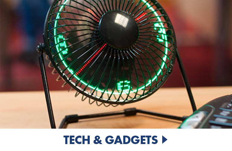 Perfect products and gifts for Tech Heads