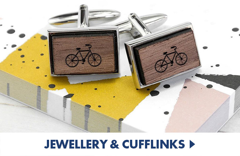 Smart, personalised and novelty cufflinks and jewellery suited to all occasions!