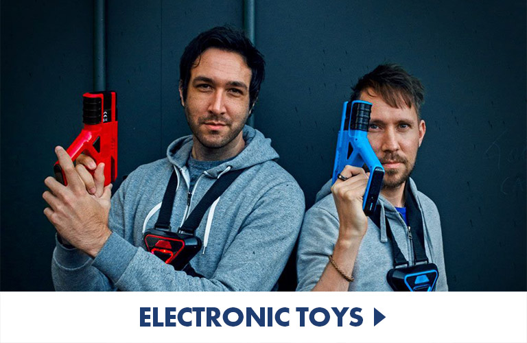 Robots and electronic toys for hours of fun