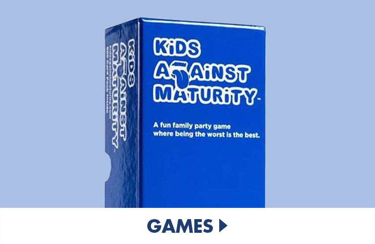 Board and party games for families and adults
