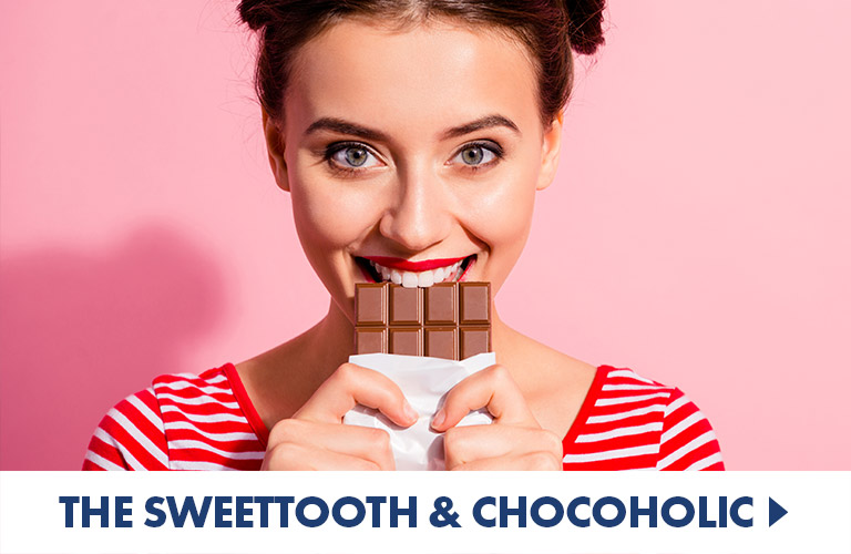 Yummy treats for Chocoholics and Sweettoths alike