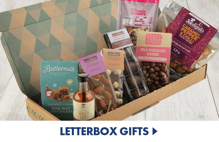 Letterbox Gifts to send to those you love no matter how far or near