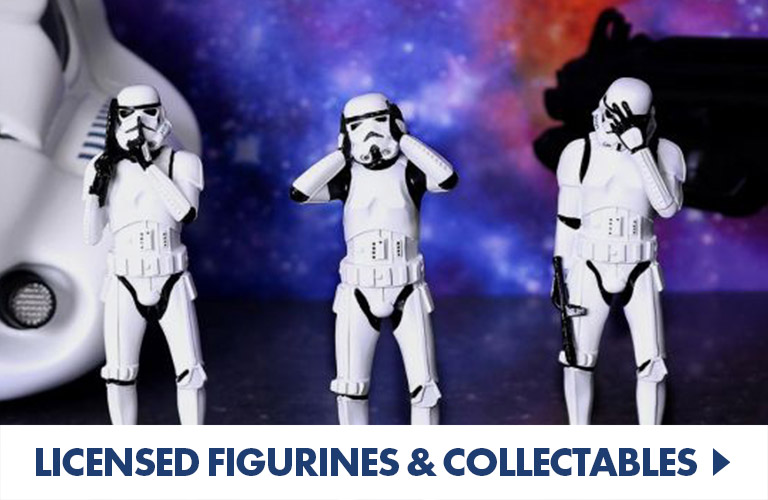 Collectible action figures and more from your favourite films, tv shows and games
