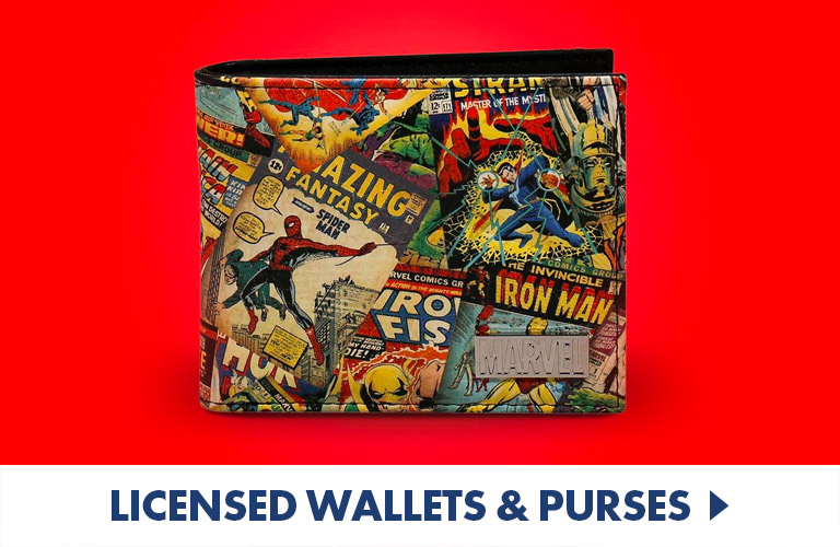 Officially Licensed Wallets and Purses for the superfan in your life