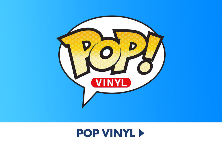 Find your favourite stars and heroes in Funko Pop! Vinyl form right here