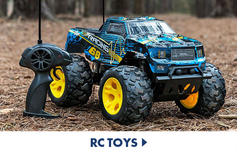 Remote control toys and drones for hours of fun