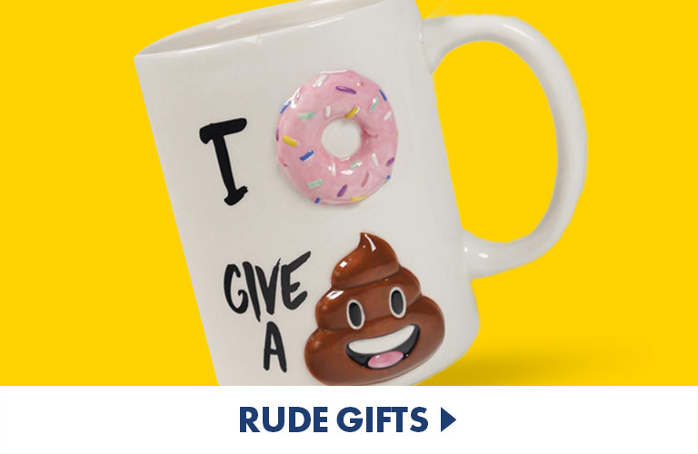 Naughty and Rude Gifts - Saucy Gifts for Mischievous Minds