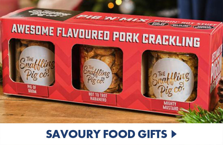 Savoury food gifts to make, snack on and enjoy!