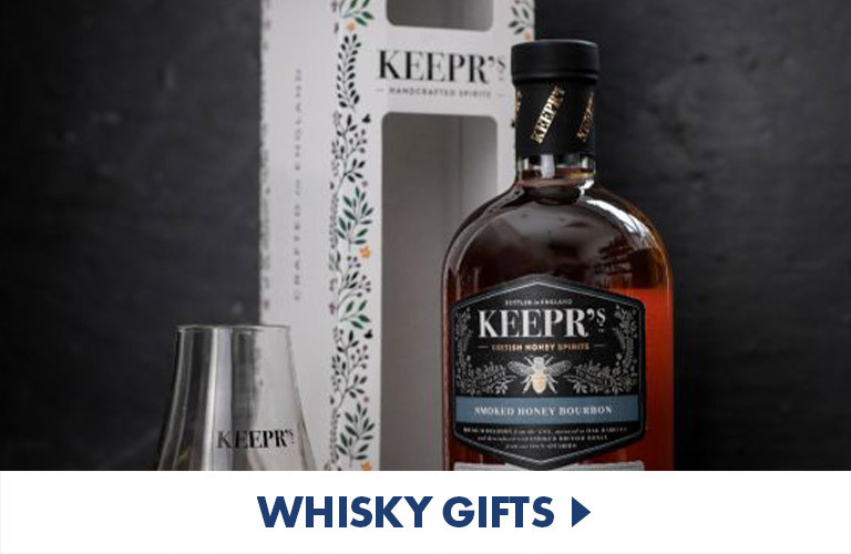 Unique whisky gift sets, decanters, and personalised whiskey products