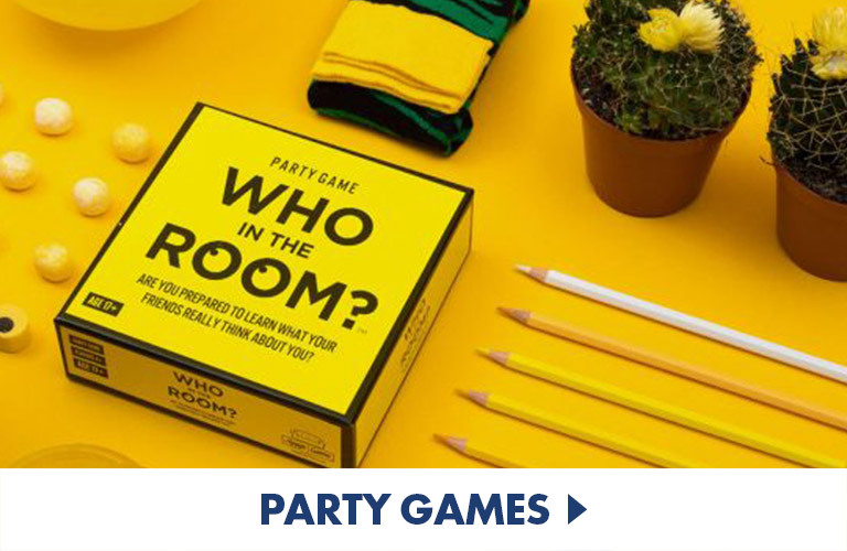 Party Games - great for games nights, pre-drinks, and parties