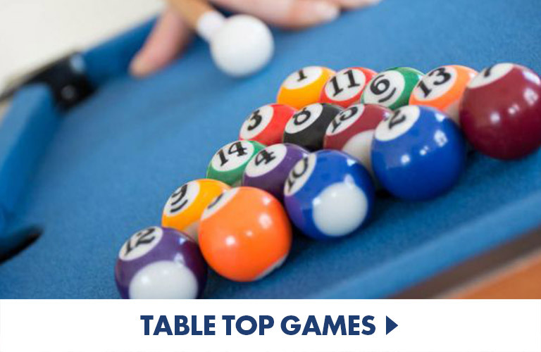 Table top games - put these games on your table for a feast of fun