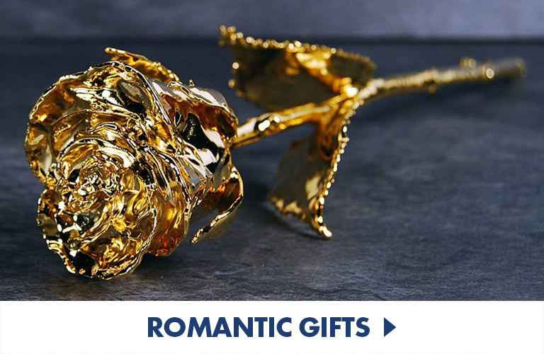 Romantic Gifts to set the mood and show them how strong you feel...
