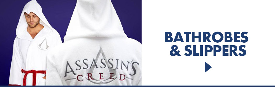 Cosy Slippers & Bathrobes from your favourite Franchise