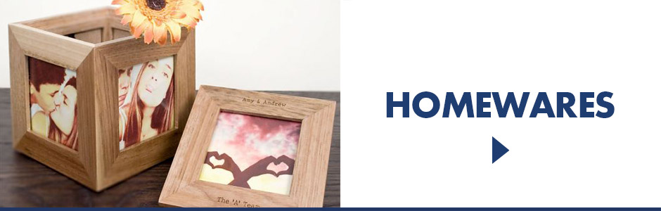 Personalised homewares - unique ornaments, trinkets and boxes for the home or office