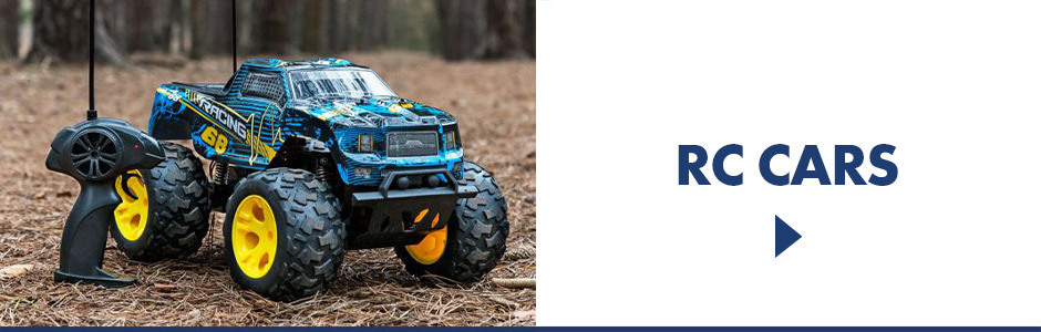 Remote control cars, trucks, boats and more