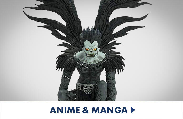 Awesome detail figurines and collectibe Anime and Mange characters