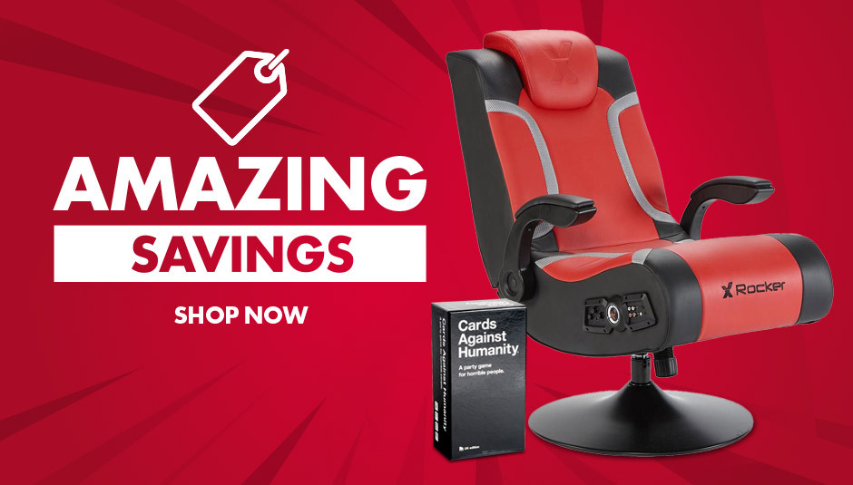 Amazing deals on these selectproducts. Including products only available at Menkind like the Brazen stag gaming chair and Playstation Icons light - plus loads more