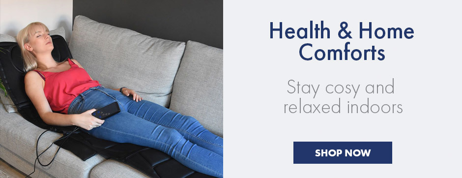All the essentials to keep relaxed and stress free at home