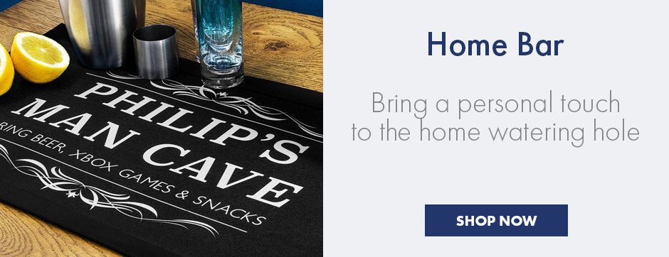 Personalised Home Bar and Alcohol Gifts