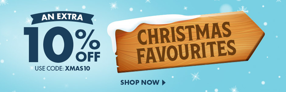 Save 10% Off all our favourite Christmas Gifts with code XMAS10