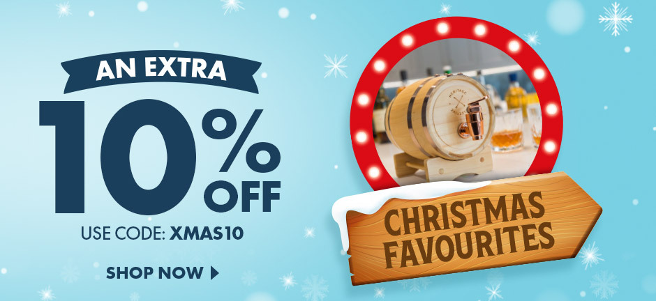 For a limited time, save 10% on all our favourite Christmas Gifts Ideas!