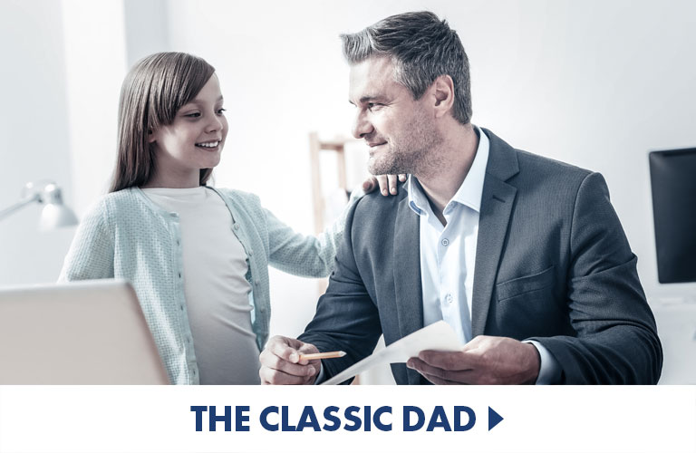 Classic Gifts for the Classic Dad