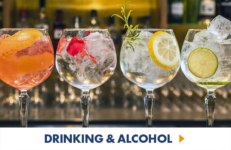 From Cocktail making sessions to beer brewing lessons and wine tasting experiences, we have some great drinking experiences for you