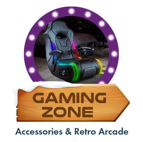 Gaming Zone - Gaming Accessories, Retro arcade, Gaming Chairs and Gaming Desks