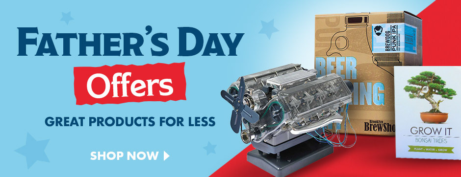 Great Father's day Offers to help you save on gifts for Dad