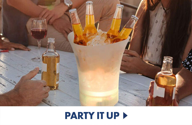 Booze, games and speakers - everything you need for the perfect freshers week party