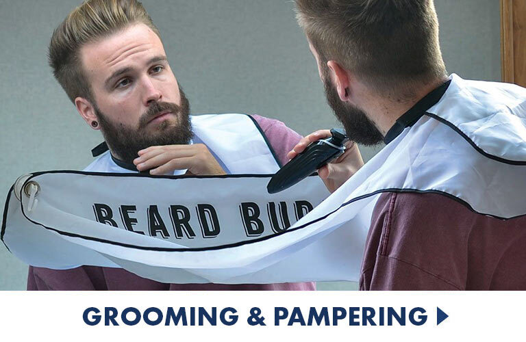 All your grooming, shaving and pampering needs, perfect gifts for the man or woman in your life who loves some self-care