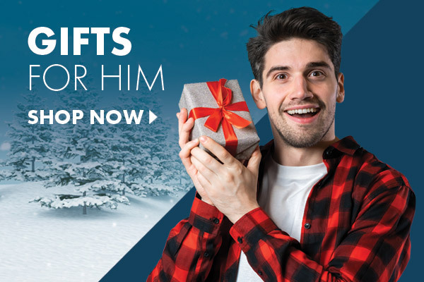 Great range of Gift Ideas for Him that he'll love this Christmas