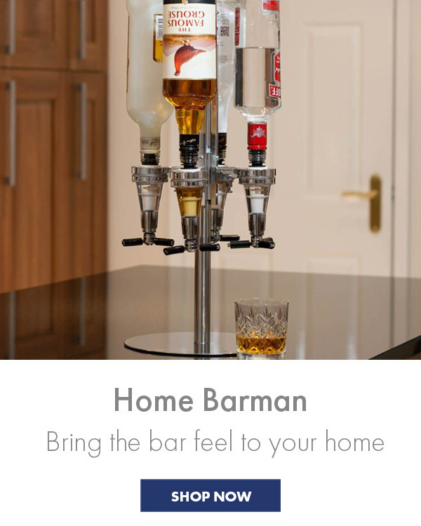 Home Bar Gifts - Bring the bar to your home, perfect for the barman you love