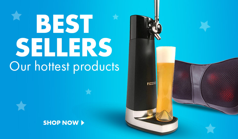Check out our top 100 bestselling gifts and gadgets