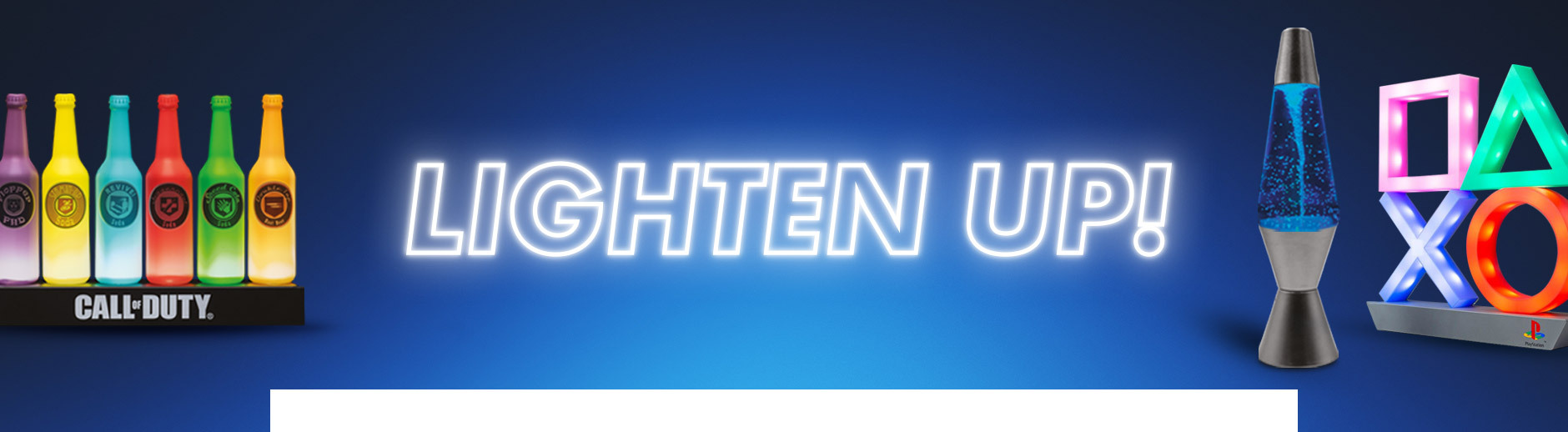 Lighten up your life with our range of lght up tech, gadgets and more fun stuff!