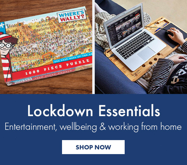 Lockdown Essentials - Entertainment, wellbeing and working from home