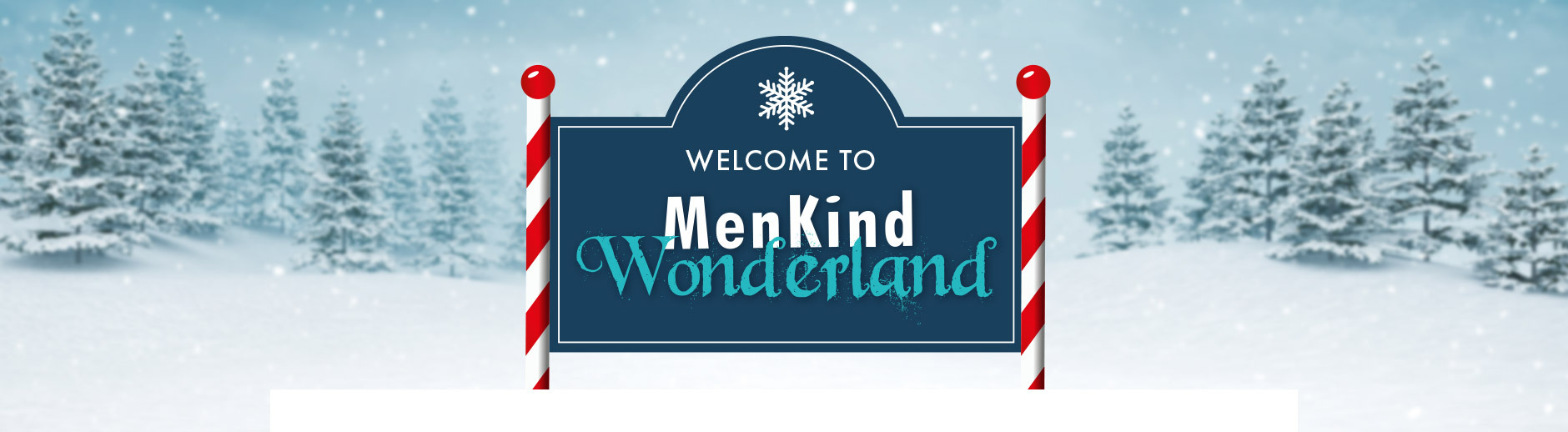 Welcome to Menkind's 2021 Christmas Wonderland