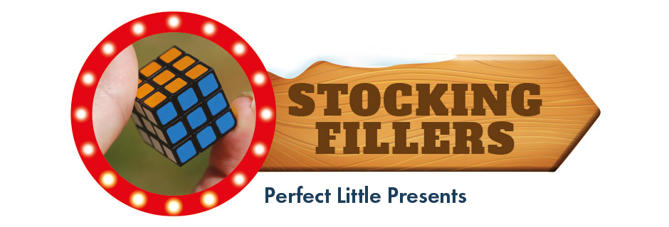 Stocking Fillers - Perfect little presents, like the worlds smallest rubiks cube