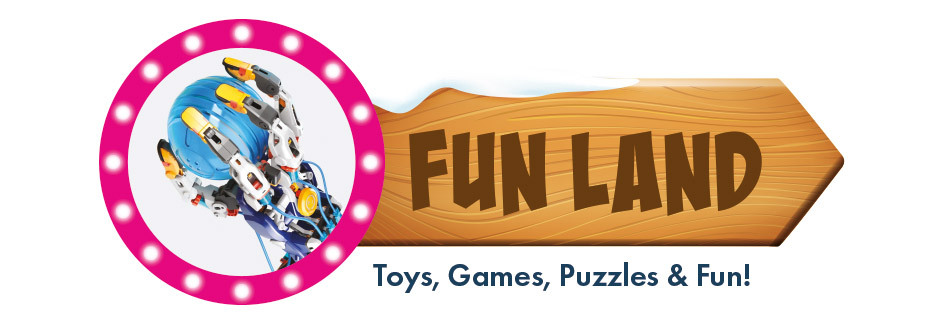 Fun Land - Toys, Games, Puzzles and more Fun Gifts