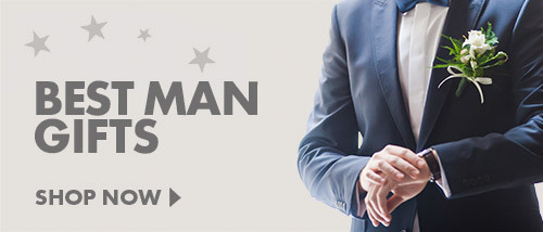 Thank them for being there on your special day with our Best Man Gifts, perfect for the groomsmen