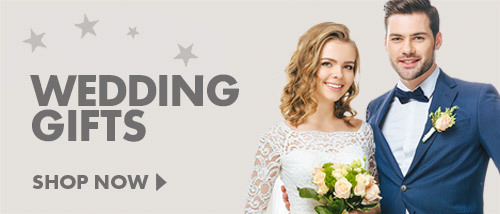Help kickstart their life together with our wide range of Wedding Gifts