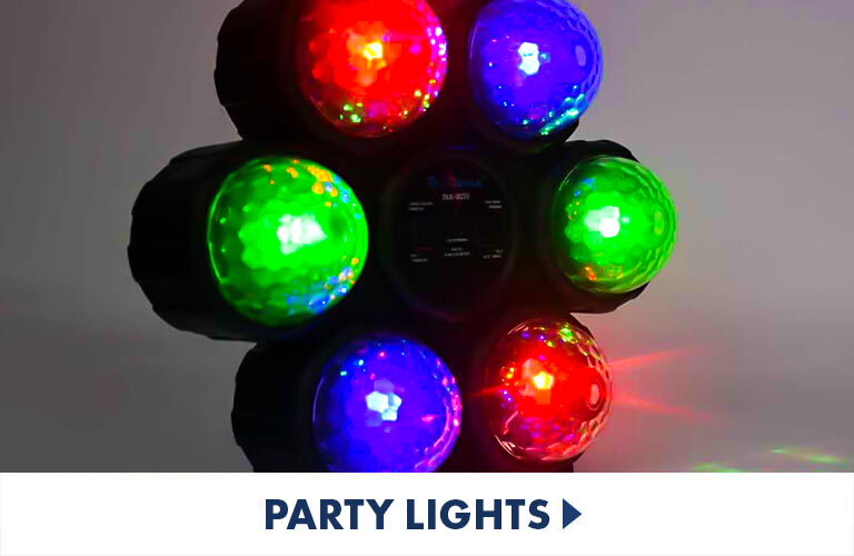 Keep the party lit with the exciting sound reactive lights, neon lights and disco lights