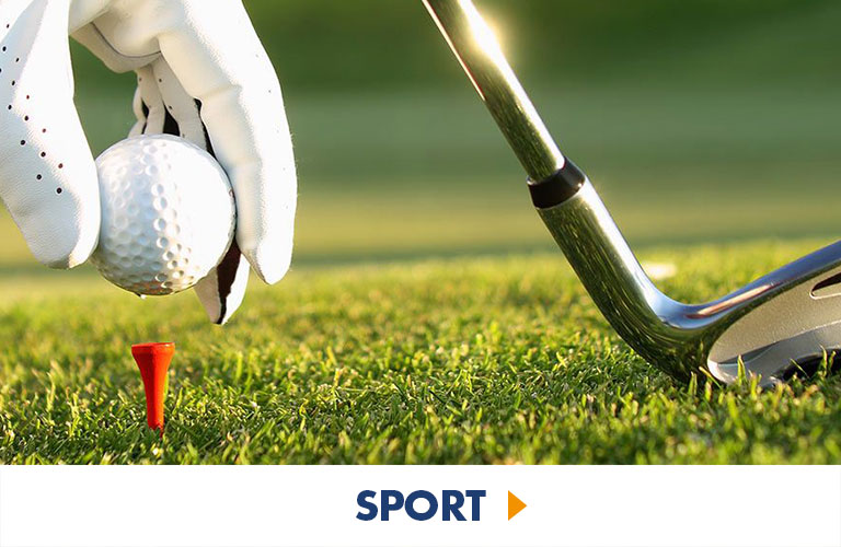 Sport experiences for lovers of golf, football and more!