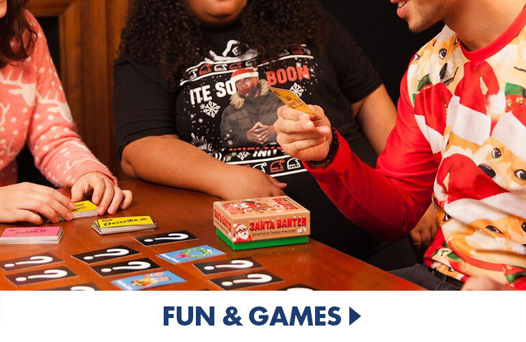 Fun Games for Christmas to fill stocking