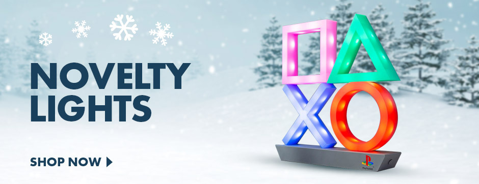 Brighten up Christmas with our Novelty Lights