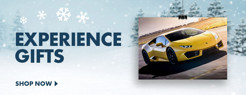 Give the gifts of thrills with our range of gift experiences