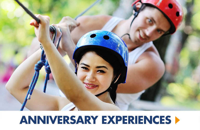 Fantastic Experiences for Couples, the perfect anniversary gift