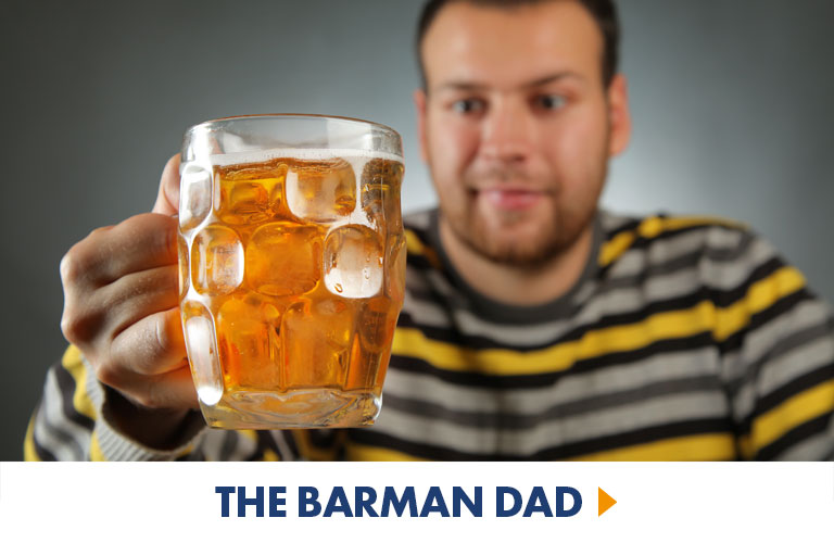 Drinking and Alcohol Gifts for the Barman Dad