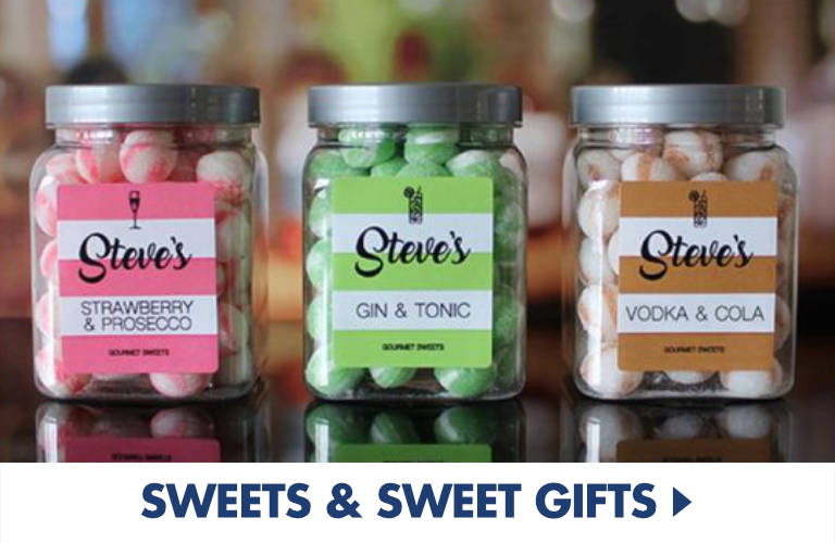 Great sweet gifts for anyone with a sweet tooth