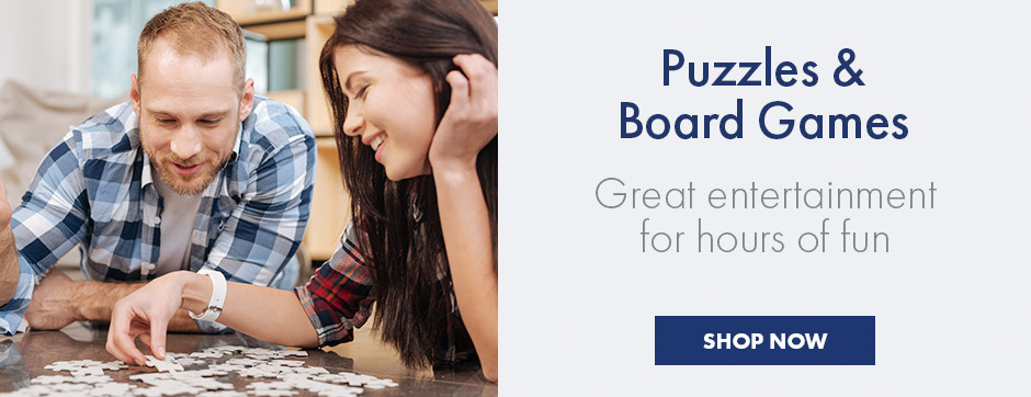 Puzzles & Board Games - Great entertainment for hours of fun